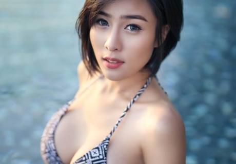 Vietnamese Sexy Round Stretch
