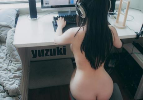 Hot Girl Photo Set 柚木寫真之湯不熱合輯