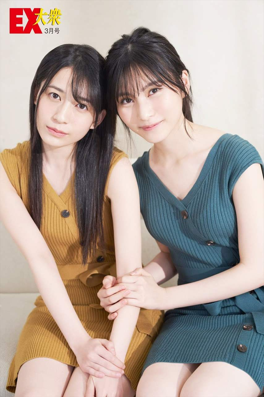 Sasaki Yukari & Fukuoka Seina 佐々木優佳里 & 福岡聖菜