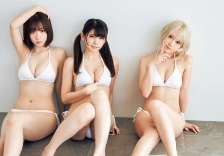 Enako, Iori Moe & Shinozaki Kokoro えなこ, 伊織もえ&篠崎こころ