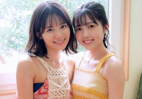Yamazaki Yuhane & Nishida SHiori 山﨑夢羽 & 西田汐里